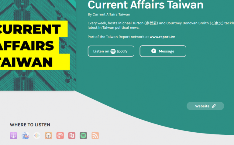 Current Affairs Taiwan • A podcast on Anchor