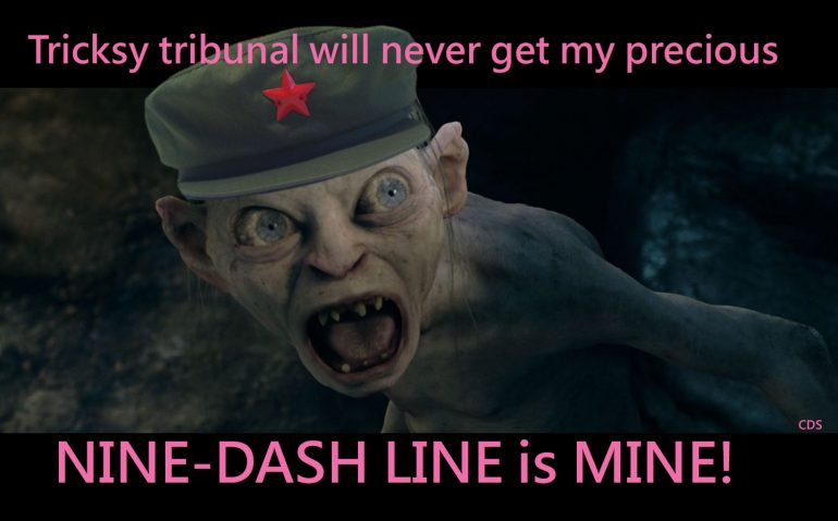 Nine-Dash-Gollum